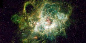 Hydrogen cloud triangulum galaxy